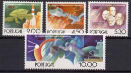 Portugal 1975 Space, Apollo-Soyuz Set Of 4 MNH - Europe