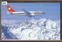 AVIATION SUISSE - SWISSAIR - AIRBUS A310 EUROPE  - TB - 1946-....: Moderne