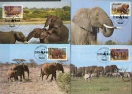 Uganda WWF Set On 4 MCs - Non Classificati