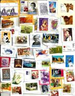 """AUSTRALIA LOT180 MIXTURE OF50+ USED STAMPS MOSTLY 2010/2012 INC.$3 """"FISH"""" ETC.READ DESCRIPTION!! - Timbres"""