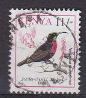 Kenya 1993 Mi. 581      11 Sh Bird Vogel Oiseau Scarlet-chested Sunbird Rotbrustnektarvogel - Kenia (1963-...)