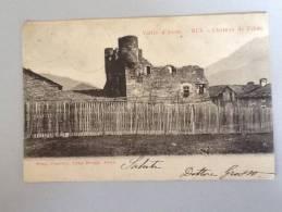 VALLE D'AOSTA CHATEAU DE PILATE 1911 VIAGGIATA BUONO STATO - Aosta