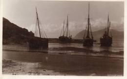 Porthdinllaen Harbour Old Real Photo Postcard - Caernarvonshire