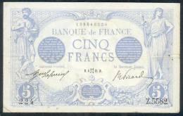 Billet De 5 Francs (Bleu) - Type 1905 - Daté De : Mai 1915 - 1871-1952 Anciens Francs Circulés Au XXème