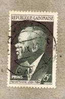 GABON : Anniversaire De La République : Premier Ministre  Léon Mba - Gabon (1960-...)