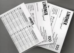 TC-Hüllen Telefonkarte 300-Box Neu 26€ Schutz/Einsortieren Telefon-Karten #878 LINDNER 88x57mm For Telecard Of The World - Télécartes