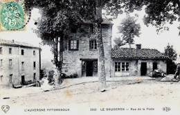 Le Brugeron - La Rue De La Poste - Très Beau Plan Animé - Frankreich