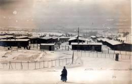 Camp De Prisonniers D'Ohrdruf 1ere Guerre Mondiale 1914-1918 Vue Generale Et Soldat Allemand En 1er Plan - Guerre 1914-18