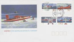 AAT 2005 Aviation In Antarctica FDC - Unclassified