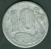 10 CENTIME SOCIETE DU COMMERCE LA ROCHELLE 1922 Pia1502 - D. 10 Céntimos