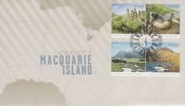 AAT 2010 Macquarie Island  FDC - Unclassified