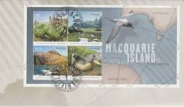 AAT 2010 Macquarie Island MS  FDC - Unclassified