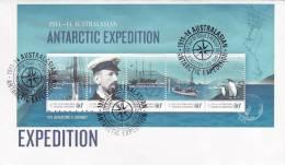 AAT 2011 Antarctic Expedition MS  FDC - Australian Antarctic Territory (AAT)