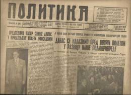 NEWSPAPERS---BEOGRAD POLITIKA - Livres, BD, Revues