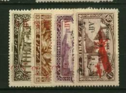 Syrie  PA  N° 34 à 37   Neuf  *  Cote Y & T  20,00 Euro Au Quart De Cote