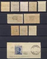 Italia Regno Piccolo Insieme  Di 11 Varietà **/*/Usati/MNH/MH/Used - Verzamelingen