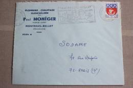 49 Maine Et Loire - Flamme 1965 - MONTREUIL BELLAY - Cité Médiévale Son Site Ses Vins D´Anjou - Marcophilie (Lettres)