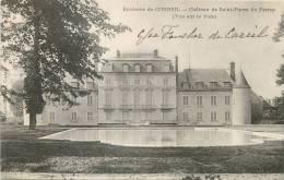 91 CORBEIL CHATEAU DE ST-PIERRE DU PERRAY - Corbeil Essonnes