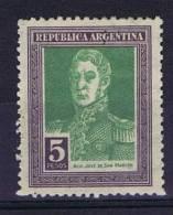 Argentie: 1924, Mi 298, Mh/* - Argentinië