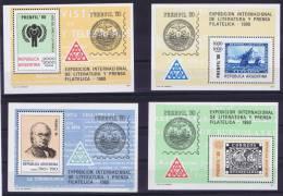 Argentie: 1979, Mi Block 22 - 25 MNH/**, - Ongebruikt