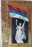 Srbija, Serbia, La Serbie, Flag, Political Propaganda - Serbie
