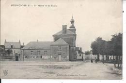 HERMONVILLE - La Mairie Et Les Ecoles - Unclassified