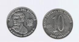 ECUADOR -  10 Centavos  2000  KM106 - Ecuador