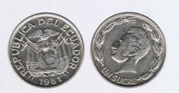 ECUADOR -  1 Sucre 1986  KM85.2 - Ecuador