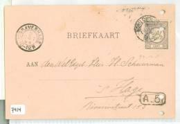 HANDGESCHREVEN BRIEFKAART Uit 1894 Van SCHILDWOLDE Naar ´s-GRAVENHAGE * NVPH Nr. 33  (7414) - Periode 1891-1948 (Wilhelmina)