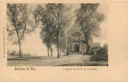 HUY  ENVIRONS L'EGLISE DES R.P.  DE LA SARTHE - Huy