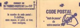 FRANCE Carnet 2101-C1a ** MNH Sabine 1,20 F Rouge Conf. 8 - Carnets