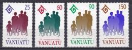 Vanuatu 1994 ( Intl. Year Of The Family ) - Complete Set - MNH (**) - Vanuatu (1980-...)