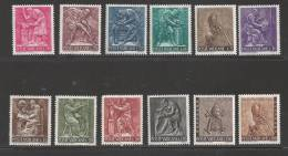 1966 Set Of 12, Regular & Special Delivery, Never Hinged - Vatican