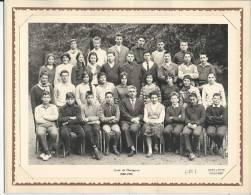 MONTGERON - Lycée - 1960-1961 - PHOTO DE CLASSE 24 X 18 Cm - Personnes Anonymes