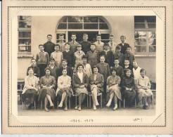 MONTGERON - Lycée - 1958 -1959 - PHOTO DE CLASSE 24 X 18 Cm - Personnes Anonymes