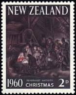 New Zealand 1960 ( Christmas ) - MNH (**) - Rembrandt