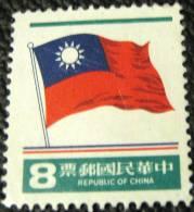 Taiwan 1978 Flag 8c - Mint - 1945-... République De Chine