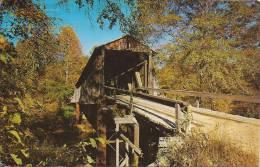 Cpsm Historic Old Covered Bridge - Etats-Unis
