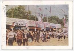 UPI 1955 Philately Exposition Tunisie Air Mail Vintage Original Postcard Cpa Ak (W3_1540) - Bourses & Salons De Collections