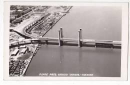 Brazil  Porto Alegre  Ponte Bridge Cartao Postal Vintage Original Photo Postcard Cpa Ak (W3_1549) - Porto Alegre