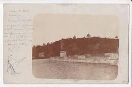 1903 Lac De La Gileppe Dam Verviers Real Photo Vintage Original Photo Postcard Cpa Ak (W3_1552) - Verviers