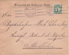 Sweden 1916 Cover - Sweden
