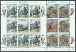 YU 1999-2910-1 EUROPA CEPT, YUGOSLAVIA, 2MS, MNH - Adler & Greifvögel