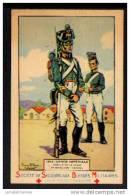 SOCIETE DE SECOURS AUX BLESSES - GARDE IMPERIALE - 1812 - Croix-Rouge