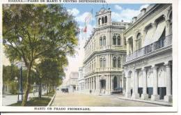 CUBA - HAVANA - MARTI OR PRADO PROMENADE - Cuba