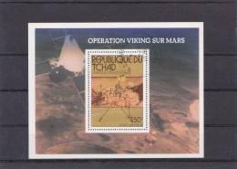 Chad Minisheet: 1976 Viking To Mars FU (B6) - Space