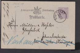 A16  /   Württemberg Stempel /  Stuttgart  1875 - Deutschland