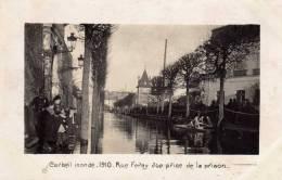 91 - CORBEIL Inondé - Rue Feray 6 Vue Prise De La Prison - Corbeil Essonnes