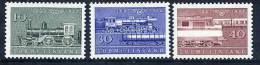 FINLAND 1962 Railway Centenary Set MNH / **..  Michel 543-45 - Finland