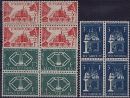 LUXEMBOURG 1956 *** MNH MI 552-554 B-4 - EUROPA - Nuevos